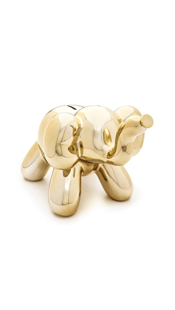Shopbop @Home Balloon Money Bank Elephant