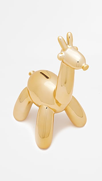 Shopbop @Home Balloon Giraffe Money Bank
