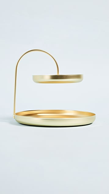 Shopbop @Home Pose Two Tiered Jewelry Tray