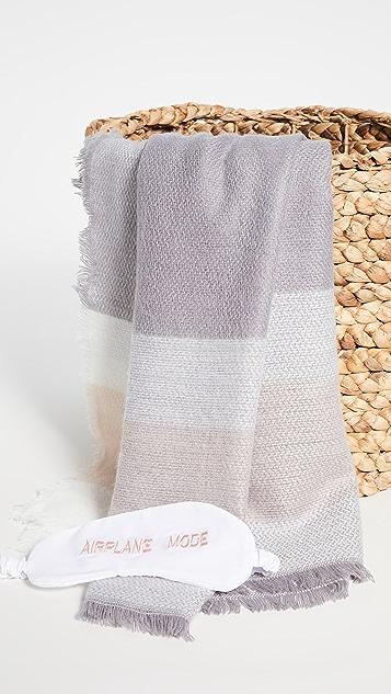 Shopbop @Home Airplane Mode Blanket & Eye Mask Set