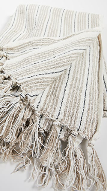 Shopbop @Home Pom Pom at Home: Newport Throw Blanket