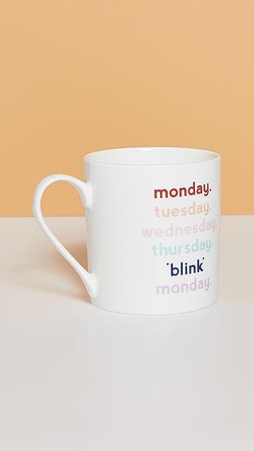 Shopbop @Home Кружка Yes Studio Monday Blink