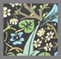 черный шип William Morris