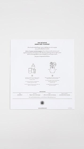 Shopbop @Home Octaevo Bazaar 纸花瓶套