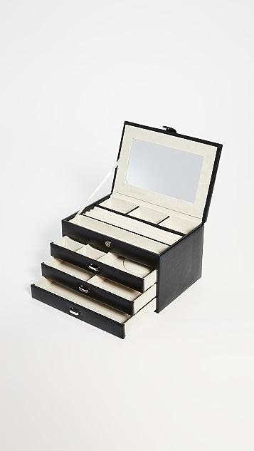 Shopbop @Home 四层皮珠宝盒
