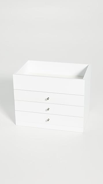 Shopbop @Home 4 Level Open Top Jewelry Box