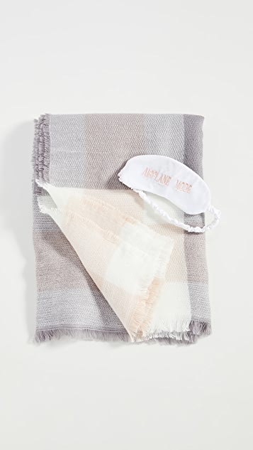 Shopbop @Home Airplane Mode 毯式眼罩套装