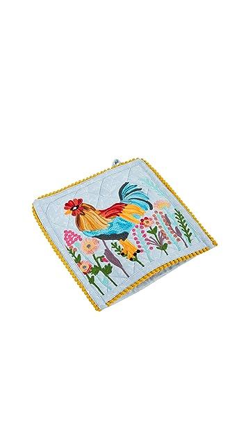 Shopbop @Home 公鸡图案锅垫