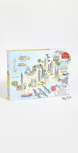 Shopbop @Home - New York City Map 1000 片拼图