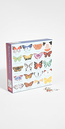 Shopbop @Home - Butterflies of North America 500 Piece Puzzle