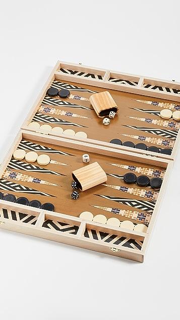 Shopbop @Home The Tabletop Backgammon Set