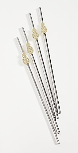 Shopbop @Home - Set Of 4 Pineapple Straws