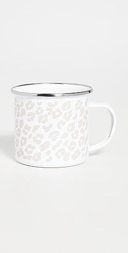 Shopbop @Home - 豹纹印花珐琅杯子