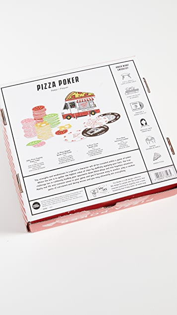Shopbop @Home Yes Studio Pizza 纸牌戏