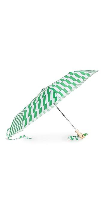Shopbop @Home Original Duckhead Compact Umbrella - Kelly Bars
