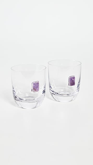 Shopbop @Home Elevo Double Old Fashioned Glasses
