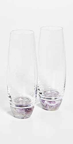 Shopbop @Home - Set Of 2 Champagne Glasses