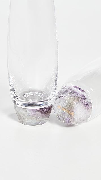Shopbop @Home 2 件装香槟玻璃杯