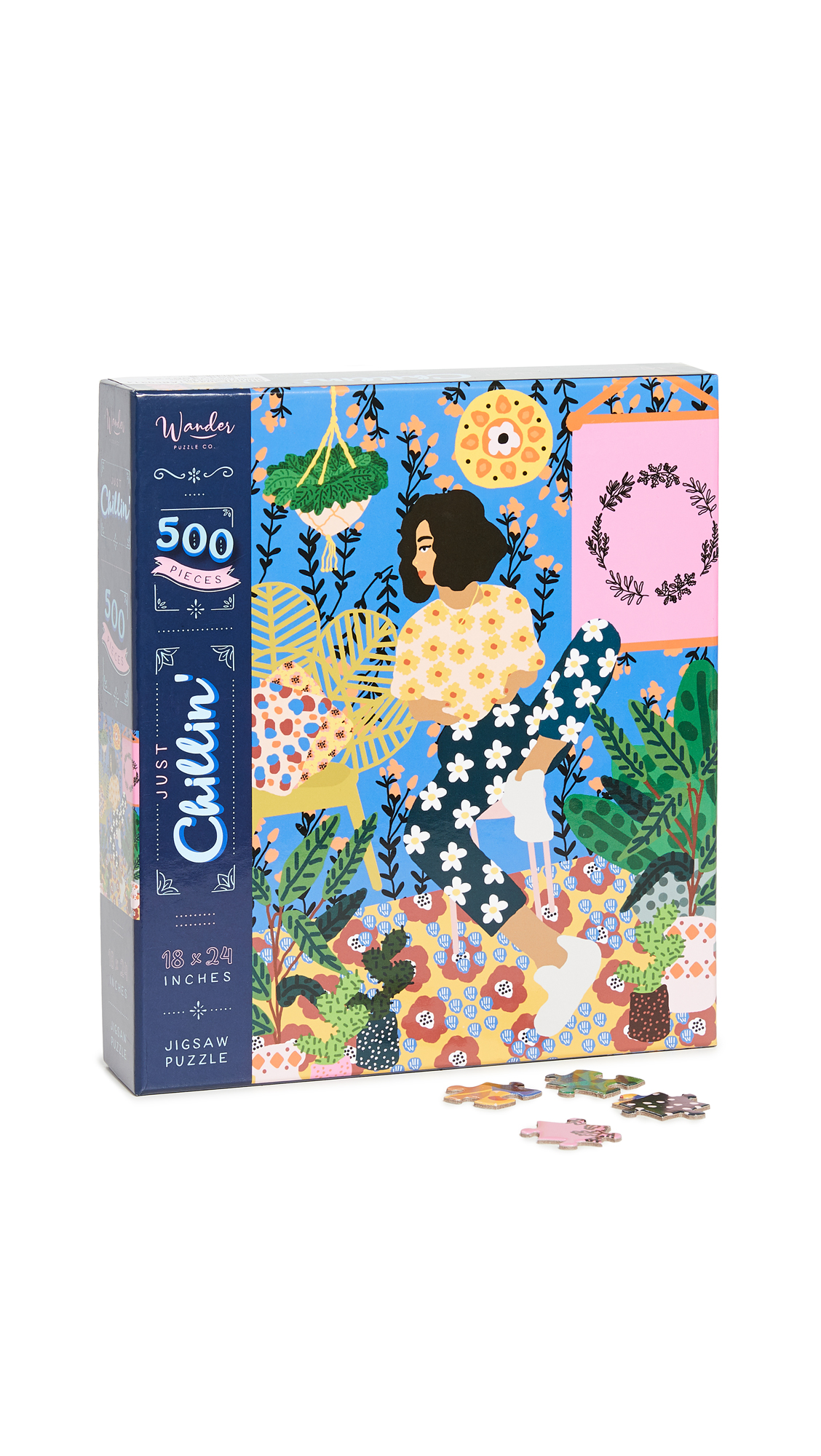 Shopbop @Home Wander Puzzle Co. Just Chillin' Puzzle
