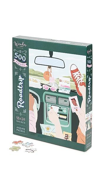 Shopbop @Home Wander Puzzle Co Roadtrip Puzzle