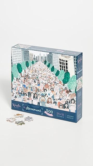Shopbop @Home Wander Puzzle Co The Movement Puzzle