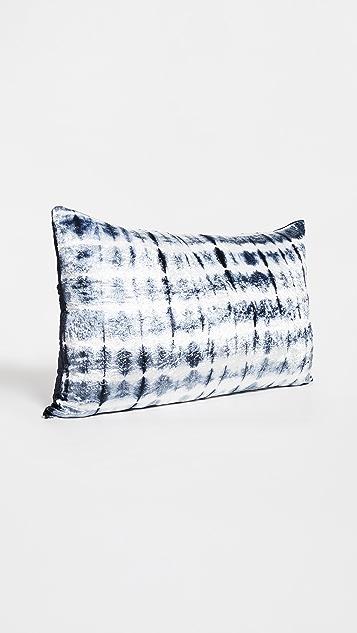 Shopbop @Home NFC Home 16x26 天鹅绒亮色扎染抱枕