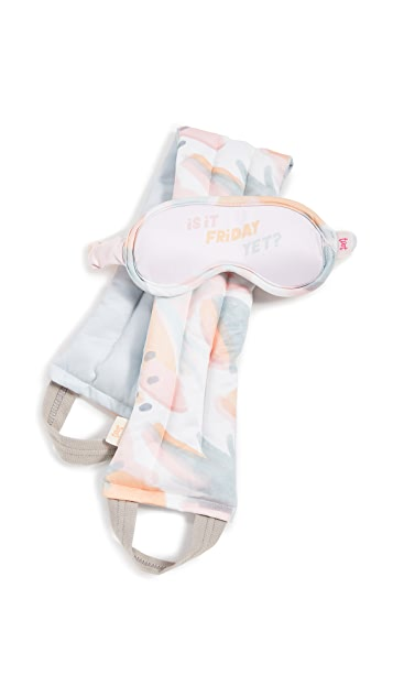Shopbop @Home Is it Friday Yet Eye Mask & Weighted Neck Wrap