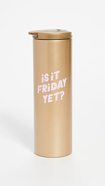 Shopbop @Home Is It Friday Yet Steel Tumbler