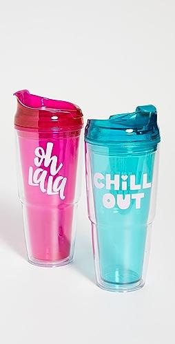 Shopbop @Home - 塑料水杯套装