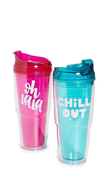 Shopbop @Home 塑料水杯套装