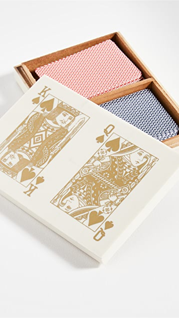 Shopbop @Home Tizo Playing Card Box Set