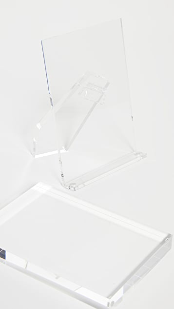 Shopbop @Home Tizo Clear Acrylic Picture Frame
