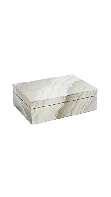 Shopbop @Home Marbleized 多色首饰盒