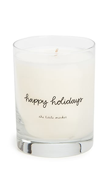 Shopbop @Home The Little Market Happy Holidays Candle