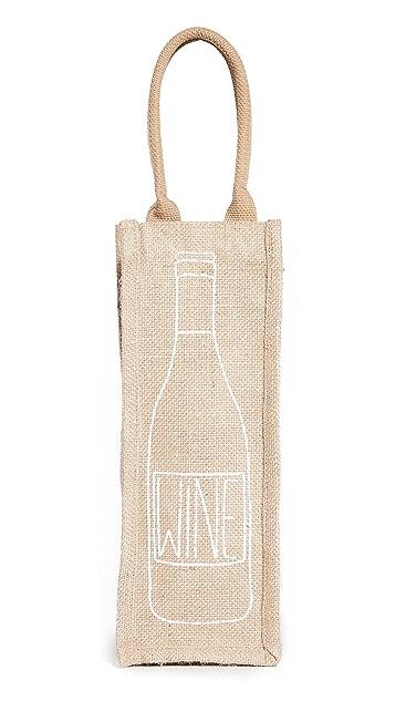 Shopbop @Home The Little Market Reusable Wine 手提袋
