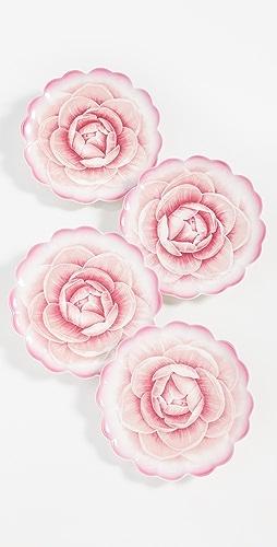 Shopbop @Home - Rose Tidbit 盘子(4 件装)