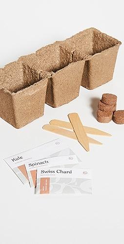 Shopbop @Home - Green Goddess Seed Starter Trio Kit