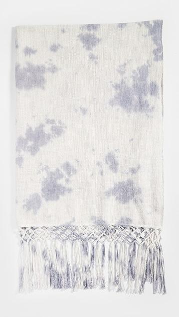Shopbop @Home Aria Tie Dye Throw Blanket