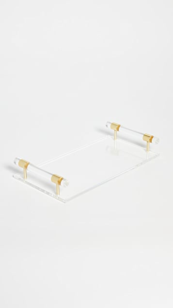 Shopbop @Home Tizo Clear Lucite Tray