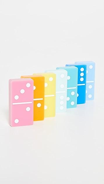 Shopbop @Home Tizo Lucite Multi Color Domino Set