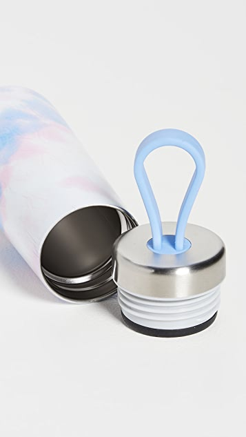 Shopbop @Home 10oz Pink Tie Dye Water Bottle