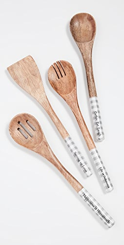 Shopbop @Home - 4 件装木质汤匙