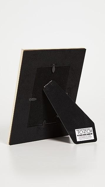 Shopbop @Home 2 件装白色蟒蛇纹相框