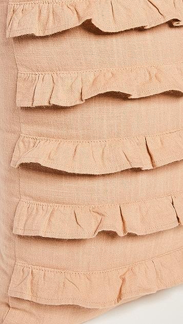 Shopbop @Home NFC Home 12 x 18 Ruffle Pillow