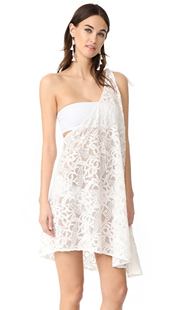 6 Shore Road Pebble Beach Cover Up Dress