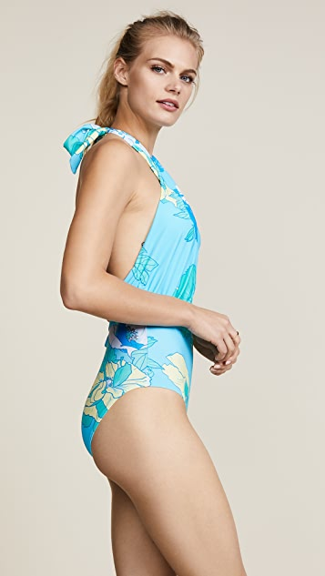 6 Shore Road Cabana One Piece Swimsuit