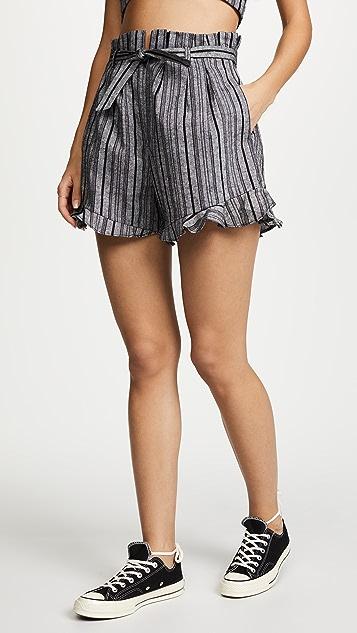nadii Safari Striped Linen Matching Set