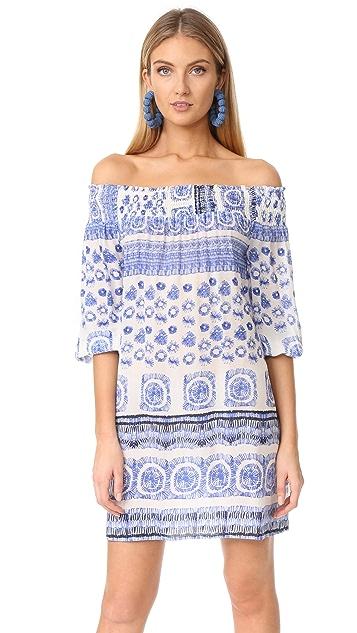 Shoshanna Off Shoulder Cover Up Dress