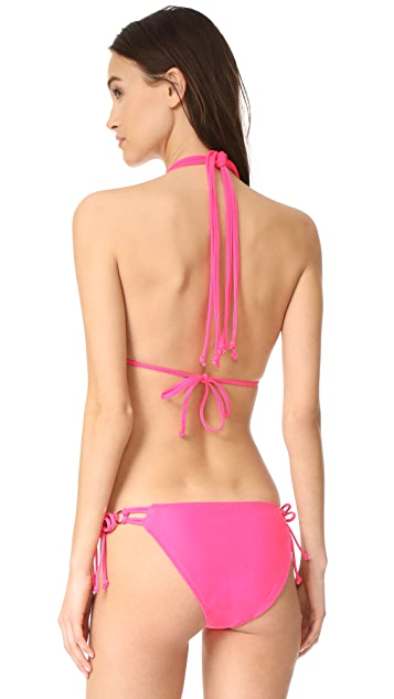 Shoshanna Multi String Bikini Top