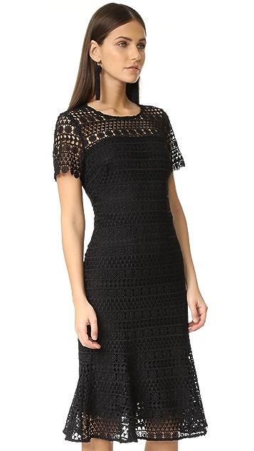 Shoshanna Park Midi Dress